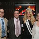 Tim George, Jr, Tim George, Sr., Miss Kentucky USA Katie George and Annie George.