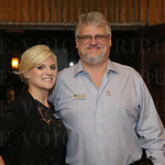 Director of Marketing & Development Ashley Voss and Chairman of the Board Of Directors Greg D. Voss.