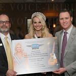 Matt Stein, Miss Kentucky USA Katie George and John Whatley.