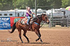 Heading for the Finish Line - Rock Bottom Barrel Racing - Photo by Pat Bonish