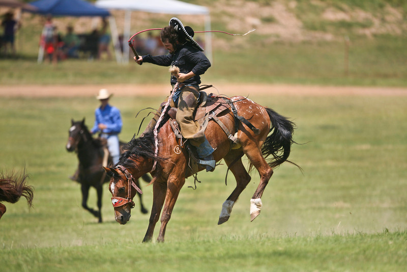 Rock Bottom Pasture Bronc Riding - Friday - Photo by Cindy Bonish