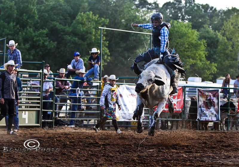Slinging Snot - Rock Bottom Bull Riding - Photo by Pat Bonish