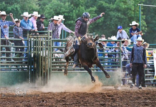 Rock Bottom Bull Riding 2012