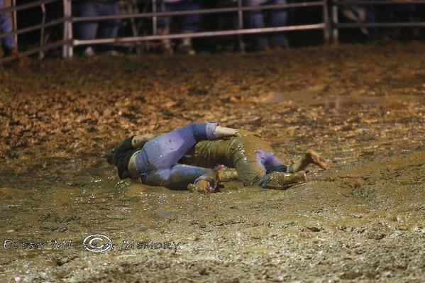 Rock Bottom Chuck Wagon Races Mud Wrestling Competition - Sunday - 2009 - Arkansas