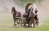 Rockin' H Race Team - Rock Bottom Chuck Wagon Races - Photo by Pat Bonish