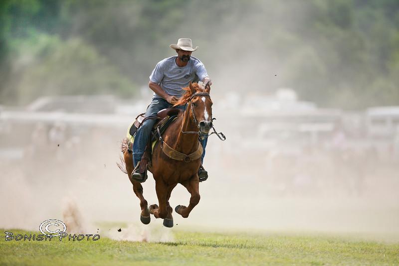 Flying Bye - Rock Bottom Chuck Wagon Races - Photo by Cindy Bonish