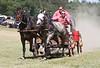 Austin Dotson & Brandon Williams of the Cadillac Cowboys Race Team - Rock Bottom Chuck Wagon Races - Photo by Pat Bonish