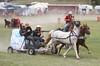 Cowboy Lady - Rock Bottom Chuck Wagon Races - Photo by Pat Bonish