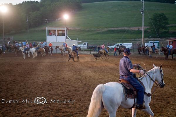 Rock Bottom Chuck Wagon Races - Thursday - 2009 - Arkansas