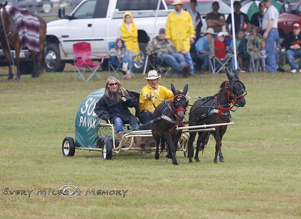 Rock Bottom Chuck Wagon Races - ACWRA Race and Awards Ceremony Day 2 - Sunday - Arkansas