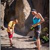 Rock Climbing in Clarks Canyon, CA
