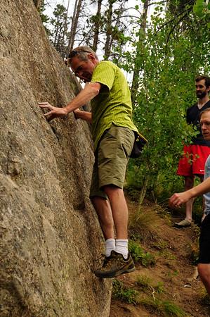 8-26-15 Rock Climbing Montezuma Rock