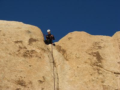 CMC Joshua Tree  Climbing 12/3/2011