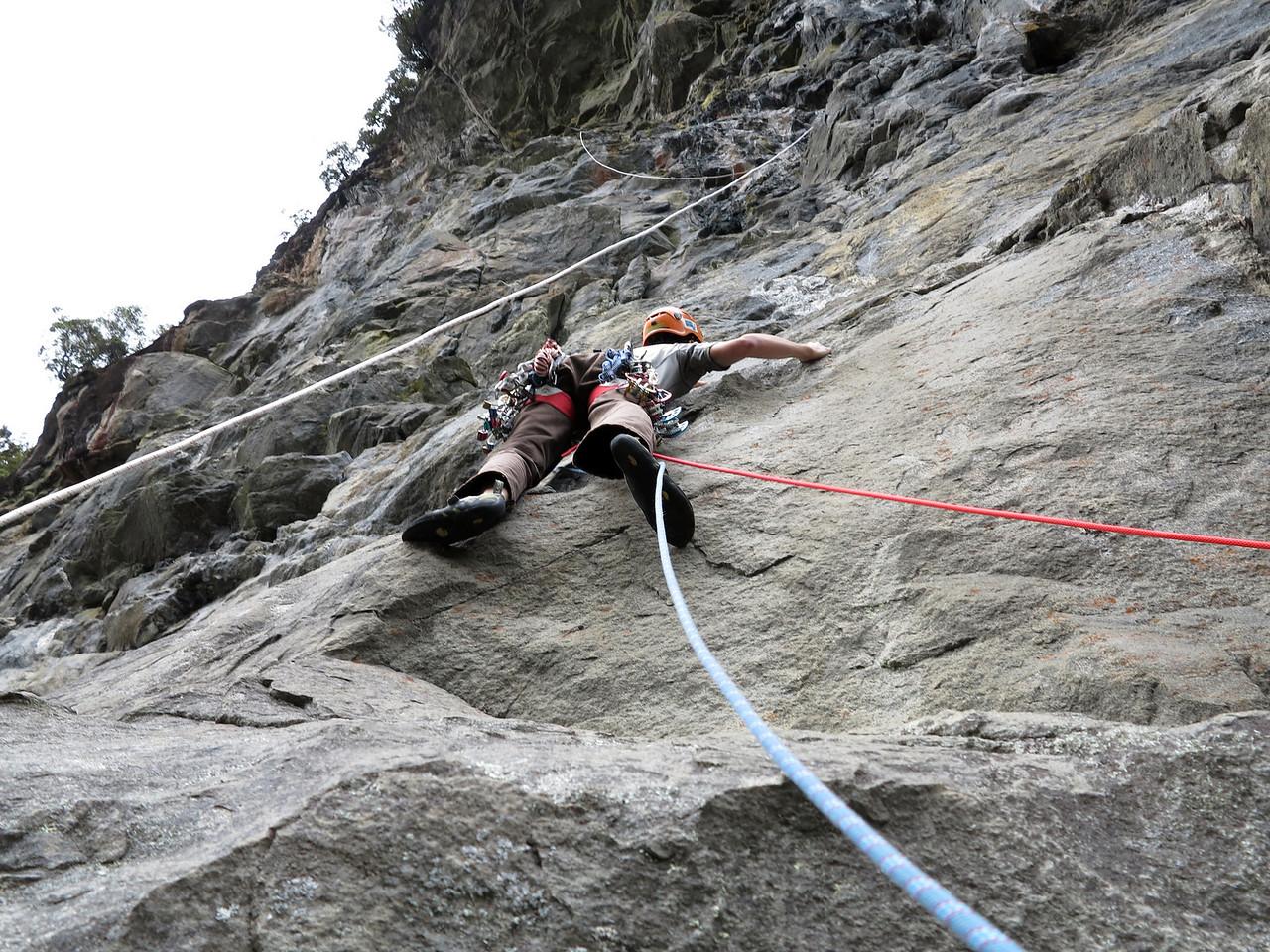 Jaz leading 'Granite Gringo' (22) (Photo Max Olsen)