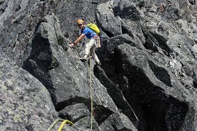 East Ridge Mt Talbot - Homer Hut Wardening 2014