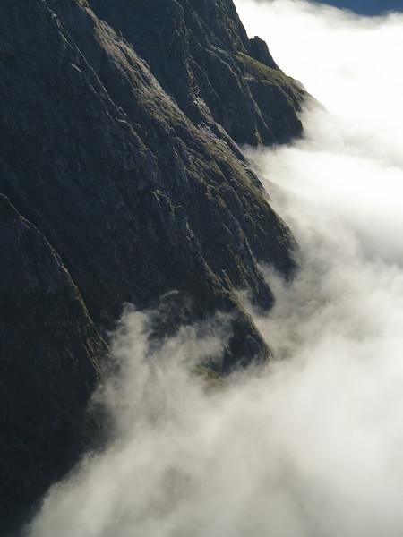 Cloud above Homer Hut