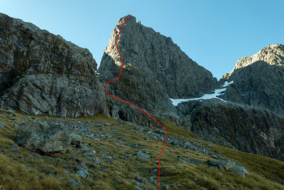 Sabre North Buttress Topos