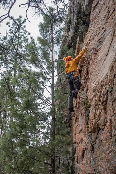 Canada Rock Climbing 2018