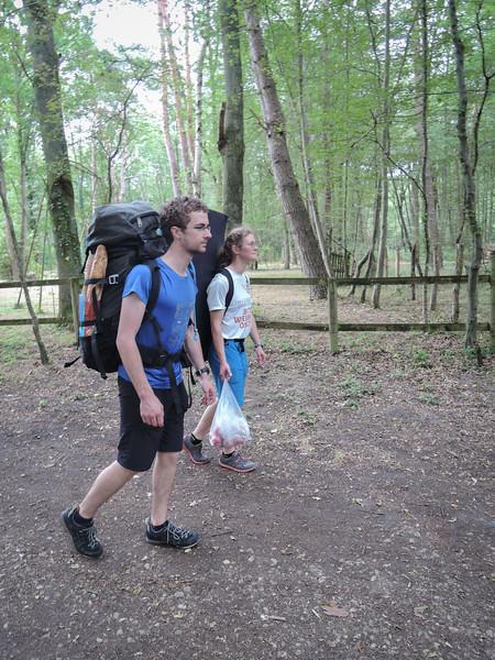 Walking to Rocher Canon from Bois le Roi (Photo Alexis Belton)