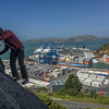 Graham Johnson on the 'Great Escape,' a suprisingly entertaining multi-pitch route at Port Chalmers, Dunedin