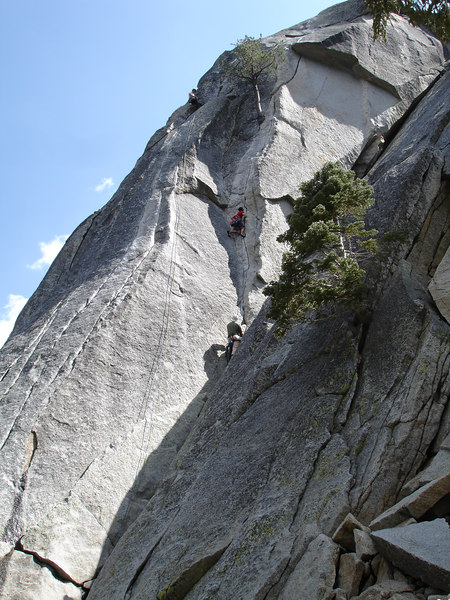 Marty setting pro on Flower of Hight Rank 5.9. Suicide Rock.