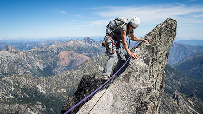 North Ridge of Mt Stuart - Washington
