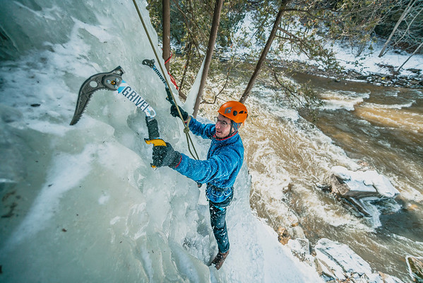 Ice Climbing Southern Ontario 2019