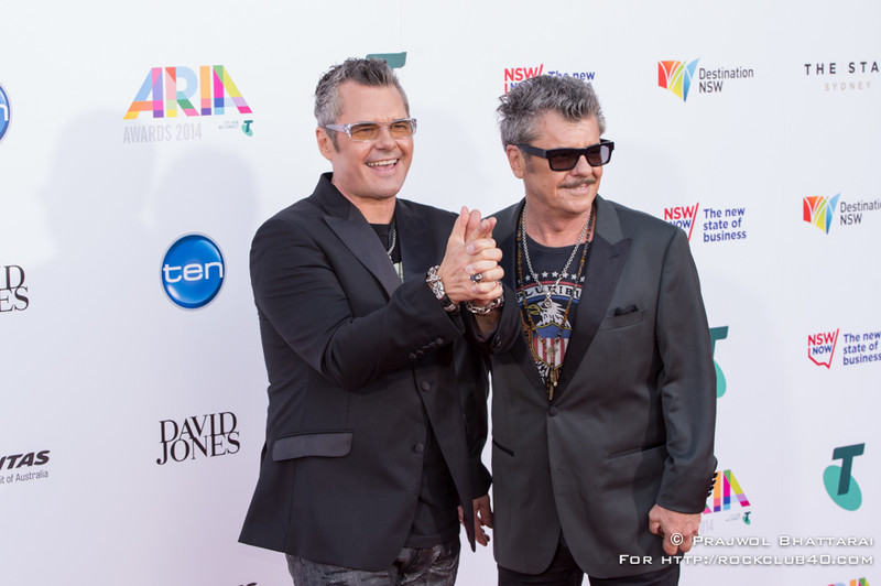 Tim and Andrew Farriss - INXS