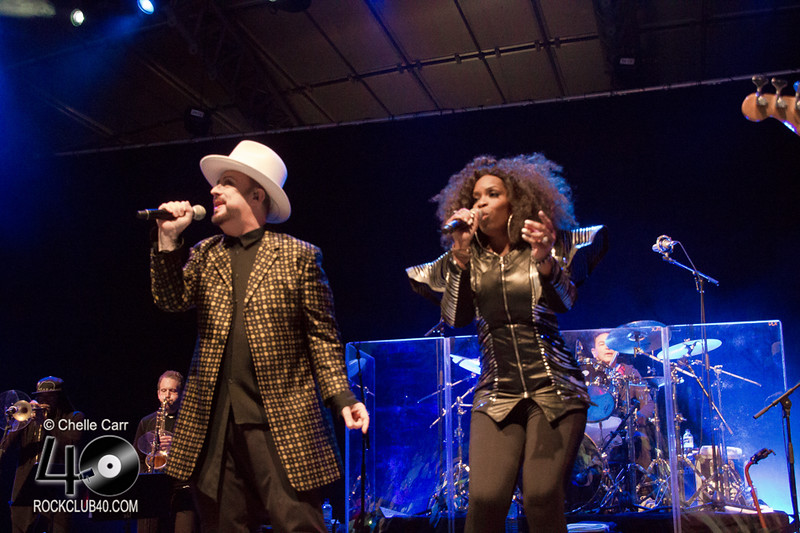 Culture Club at Sidney Myer Music Bowl