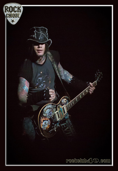 "DJ ASHBA of GUNS N' ROSES at Allphones Arena.  Please share this gallery with your friends and hit the ""like"" button.  No unauthorised reproduction is permitted.."