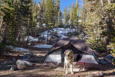 Campsite at Box Lake