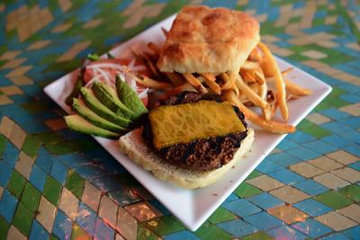 Tania Barricklo-Daily Freeman    Veggie Burger