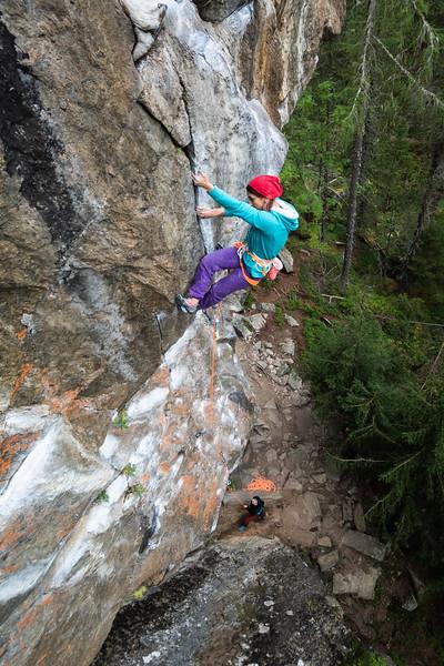 Climber: Elnaz Rekabi