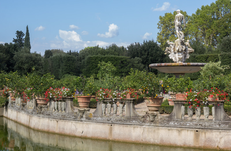 Marble Statue Fountain