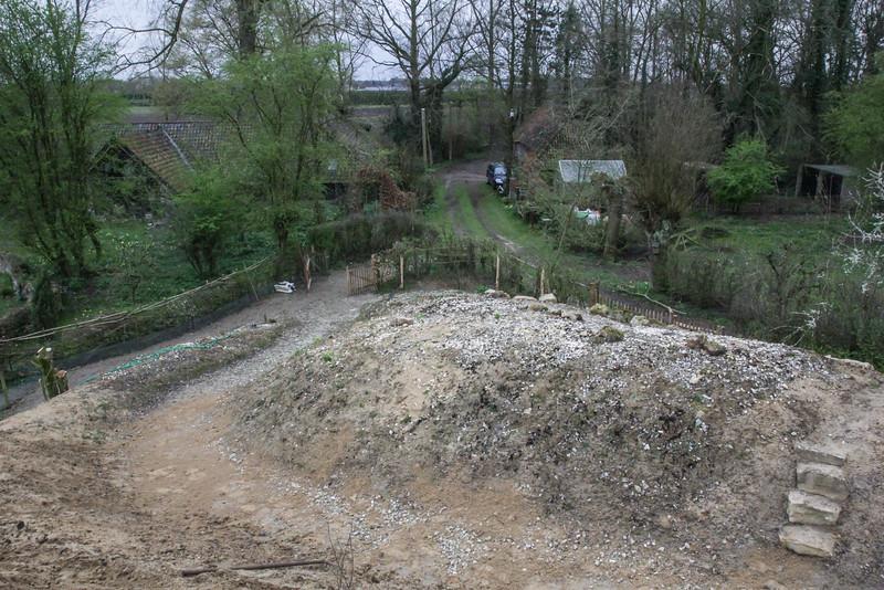 Calcareous poor  loamy soil