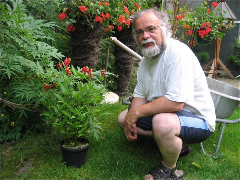 Gardener Harrie de Vries (Garden Harrie en Ton de Vries, Valkenswaard)