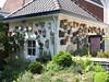 collection bird houses (Garden Theo v.d. Zanden, Eindhoven)