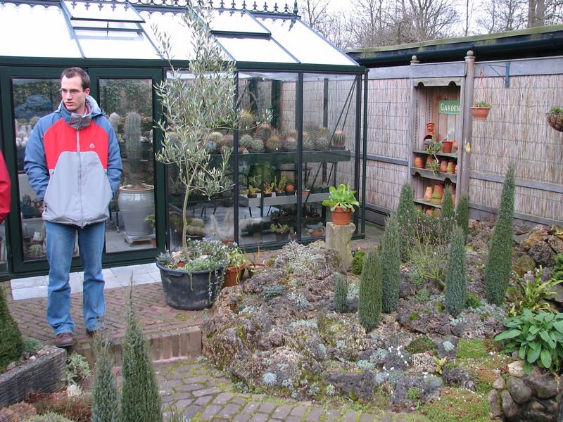 Kees Jan and his father's glasshouse (Garden Kees Jan, Alblasserdam, Netherlands)