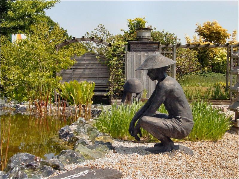 statue (Pondgarden Ada Hofman, Loozen)