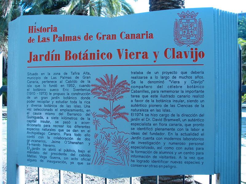 Jardin Canaria N.E. Gran Canaria (University garden of Las Palmas,)
