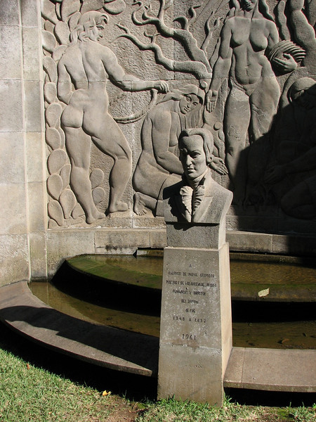 Founder of the botanic garden (Puerto de La Cruz,Tenerife)