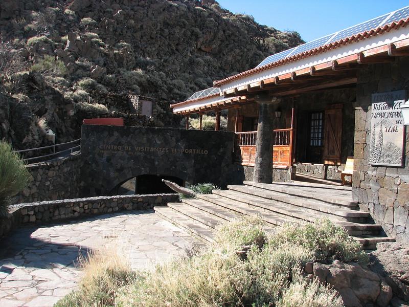 Entrance Botanical Garden, Parque Nacional Del Teide (Parque Nacional Del Teide, El Portillo)