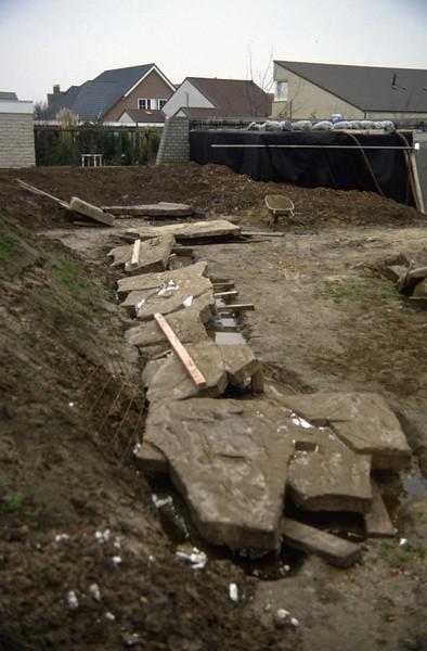total 6 pieces of hypertufa slabs (construction rock garden 1991)