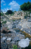 overview rock garden after finishing (photo: Harrie de Vries, construction rockgarden 1992)