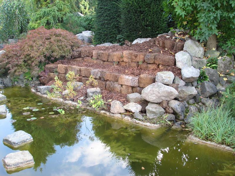 the first peat garden plants (creation peat/woodland garden 2007)