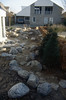 walk to the front garden (  construction rockgarden 1992)
