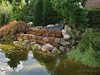 peat walls with compartments for humid soil (creation peat/woodland garden 2007)