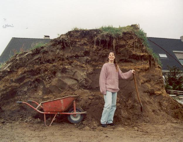 Deposited soil (with Saskia).