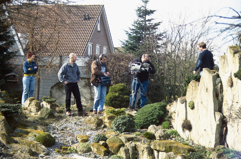 shooting for TV, Own Home and Garden (In love with your garden  03-11-2001)