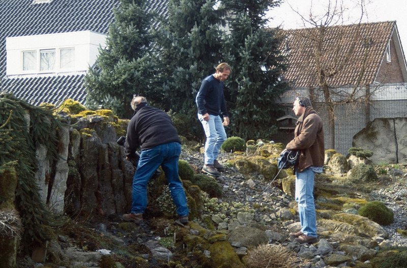 recording and shooting for TV, Own Home and Garden (In love with your garden  03-11-2001)